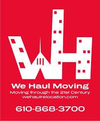We Haul Moving Logo